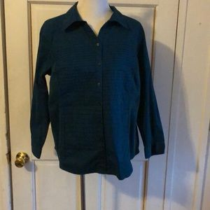 Women's CJ Banks Button Down Flattering Shirt